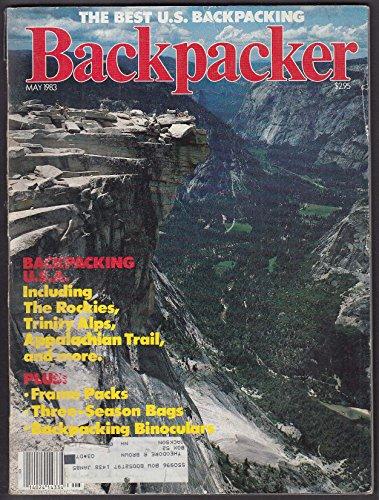 BACKPACKER Rockies Trinity Alps Appalachian Trail Nova Scotia George Bush 5 1983 ()