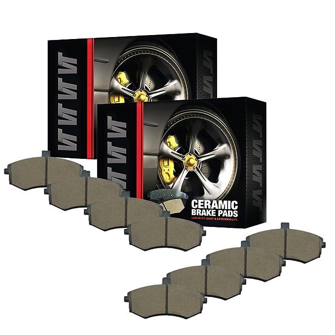 FRONT V-Trust Premium Quality Ceramic Brake Pads VTD1211