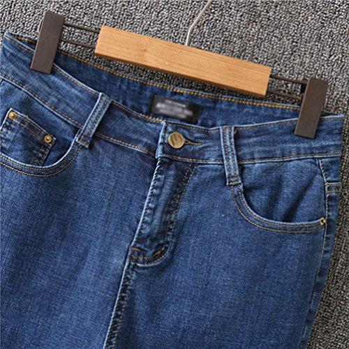 vas Femme Femme Grande Stretch Pantalon Denim Jeans YiLianDaD Bleu Taille 81x7qq