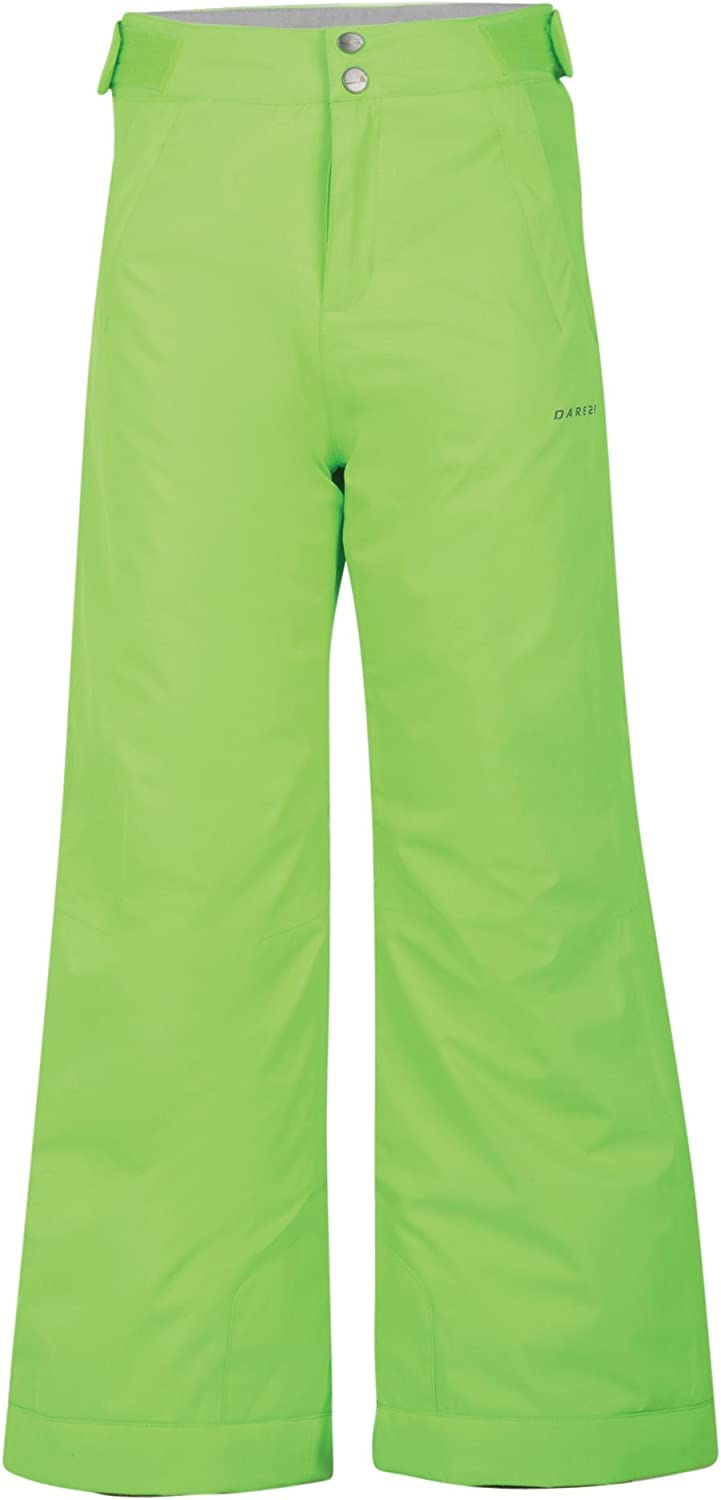 Dare 2b Childrens Kids Whirlwind Snow Pants-Lime Green 9-10 Years