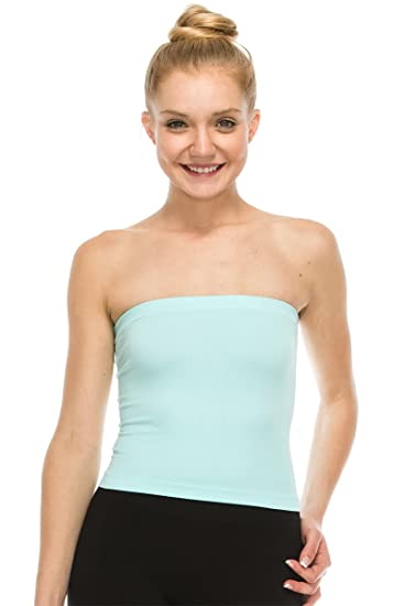 57207d20d5 Kurve Medium Length Bandeau Bra Top - UV Protective Fabric UPF 50+ (Made  with