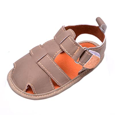 Binmer(TM) Summer Toddler Casual Baby Girls Boys Soft Toe Cap Covering Beach Sandals