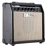 "Andoer GM-215 Professional 15W Electric Guitar Amplifier Amp Distortion with 3-Band EQ 5"" Speaker"