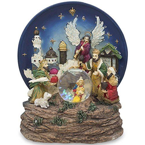 Nativity Snowglobe Scene (6.5