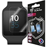 SONY SMARTWATCH 3 (2 Units) Invisible Screen Protector Skin Anti Scratch By IPG®