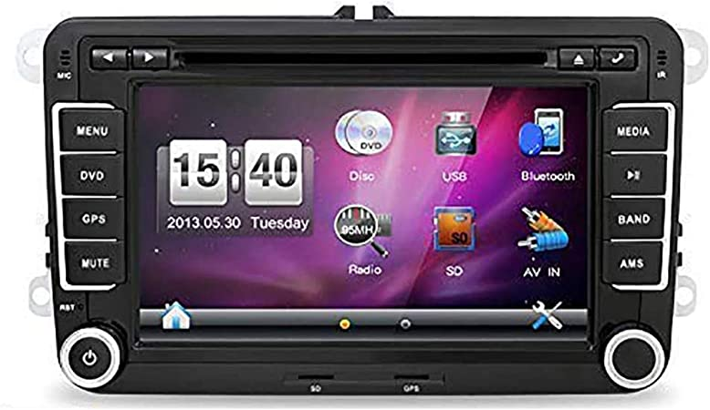 New 7 Inch 2din Car Dvd Player Gps Stereo Car Dvd Gps Navigation Windows Ce 6 0