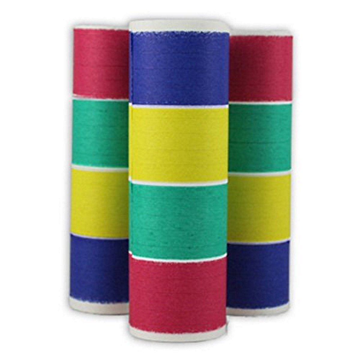 50 Rolls of Multi-Color Serpentine Throws by PTMFG