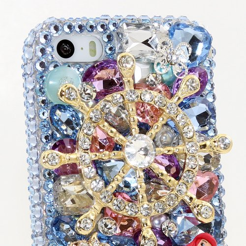 the best attitude 130f0 12a6a BlingAngels® 3D Luxury Bling iphone 5 5s Case Cover Faceplate ...