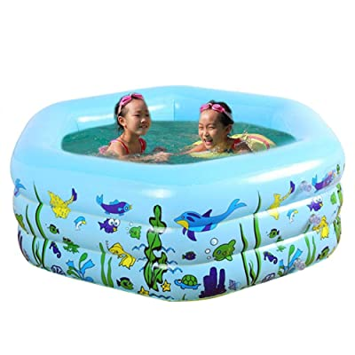 astolily Kids Thickening Inflatable Pool, Family Inflatable Swimming Pool, Baby Fun Inflatable Pool: Home & Kitchen