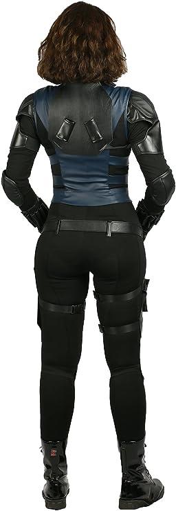Amazon.com: Disfraz de viuda negra para mujer: Clothing