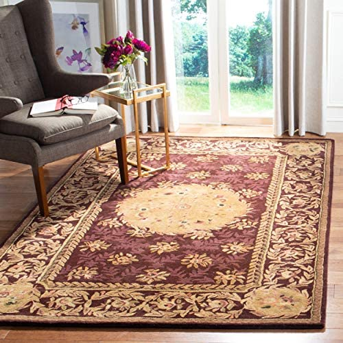 Safavieh Empire Collection EM416A Handmade Traditional European Multicolored Premium Wool Area Rug 10' x 14'