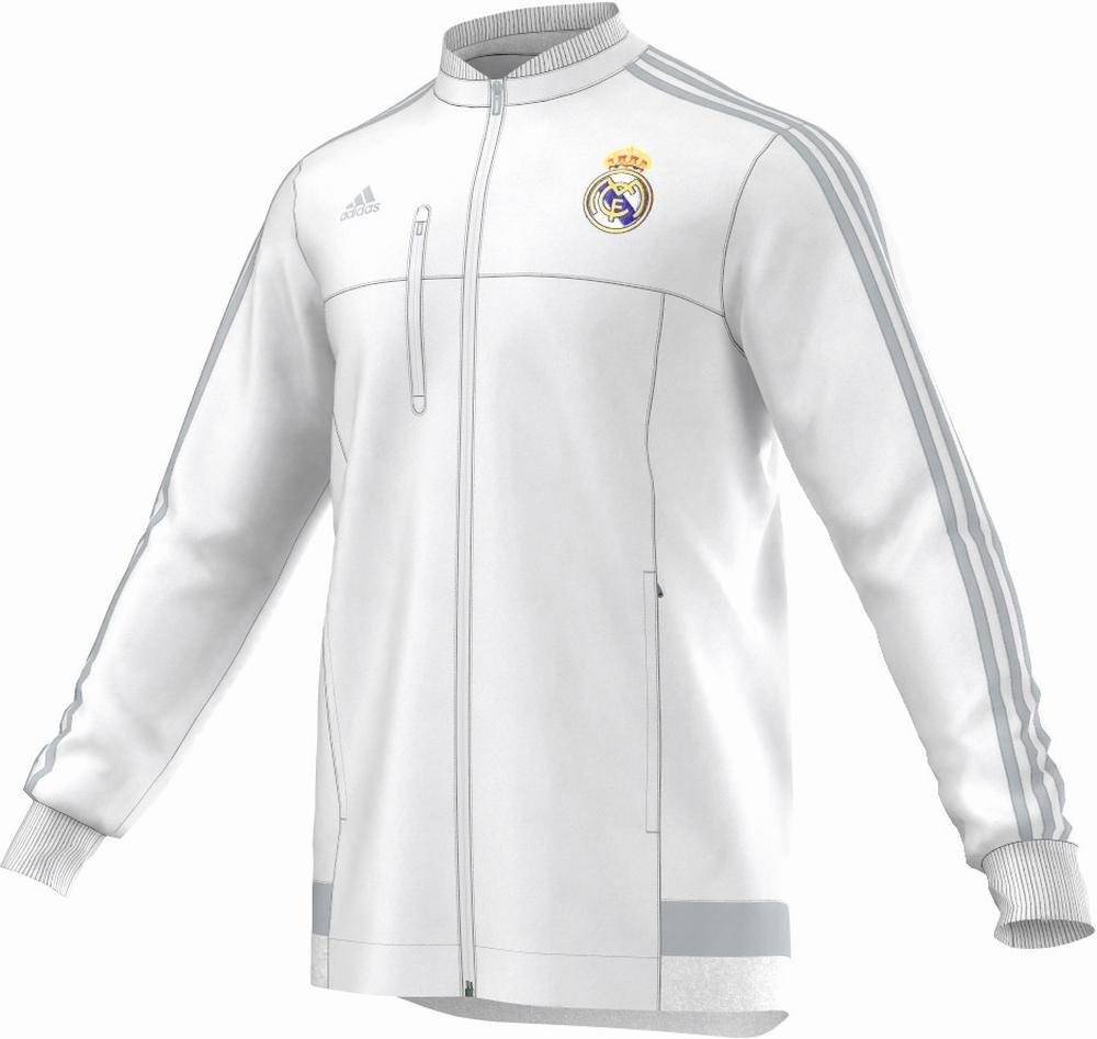 Adidas Chaqueta Real Madrid Himno (Blanco) 2015-16 0382e11505aab
