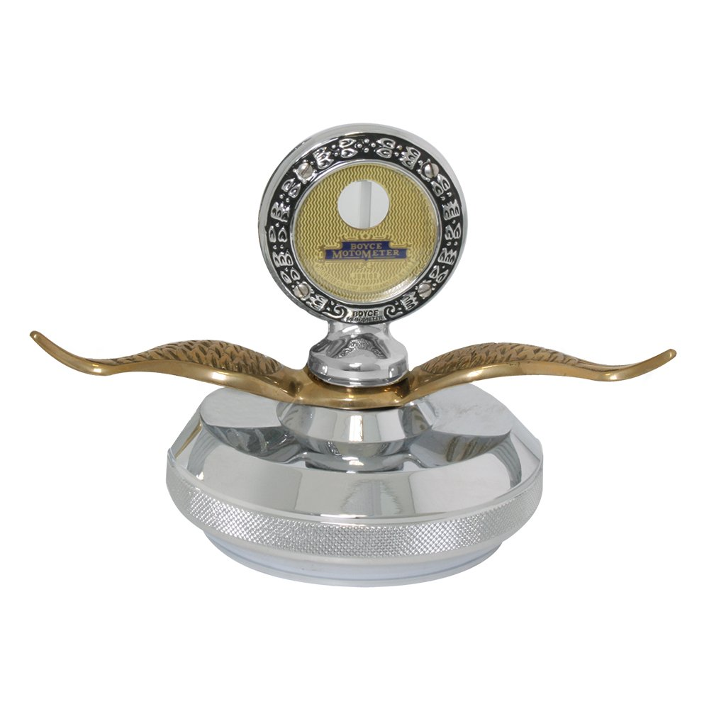 Grand General 48281 Chrome Small Motometer Hood Ornament
