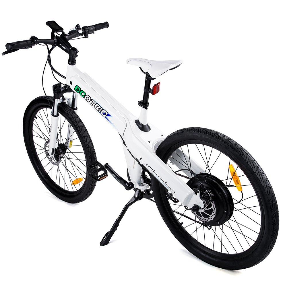 E-go 26 Inch White Electric Bicycle City E Bike 48v 500w Moped Pedal Assist by E-GO BIKE B019RNKX2K