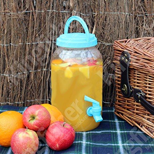 Unibos Garden Party Beverage Dispenser 3ltr for a Vintage Beverage Service – A Must Have for Summer