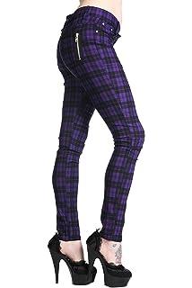 4c777612bcb Suko Jeans Women s Plaid Skinny Jean Tartan Pants Power Stretch ...