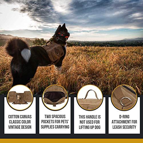 OneTigris Dog Saddle Backpack