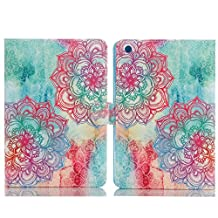 Tablet Cover For iPad Mini 3,TechCode Screen Protective Luxury Stand with Card Slots Smart Case for Apple iPad mini/iPad mini 2/iPad mini 3 7.9 inch Tablet(iPad Mini 1/2/3, A03)