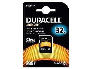 Duracell tarjeta de memoria SDHC UHS-3 profesional para ...