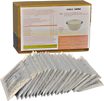 CALYFORM Natillas proteicas para dieta sabor Coco  100% saciante   Proteína en polvo para preparar natillas de calidad y aporte en aminoácidos ...