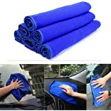 Tonsee 30*30cm Soft Microfiber Cleaning Towel Car Auto Wash Dry Clean Polish Cloth