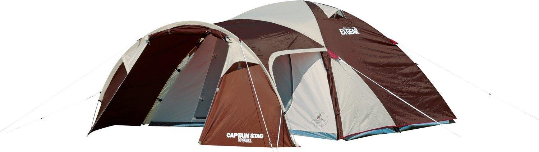 キャプテンスタッグ キャンプ テント エクスギア ツールーム ドーム 270 (4-5人用)