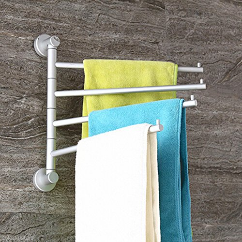 eutteum-4-swivel-bar-wall-mounted-towel-rack-applied-stainless-steel-shelf-holder-hanger