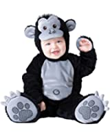 Boo Infant Boys & Girls Plush Black Goofy Gorilla Costume Monkey Outfit 6-12m