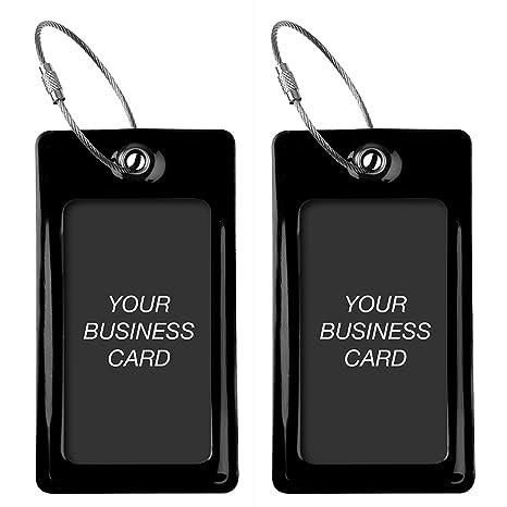 Amazon Proudguy Luggage Tags Tufftaag Business Card Holder