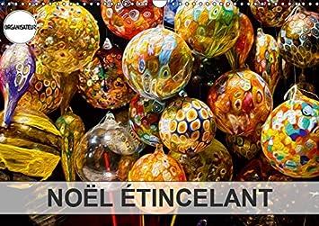 Noël étincelant Calendrier Mural 2019 Din A3 Horizontal