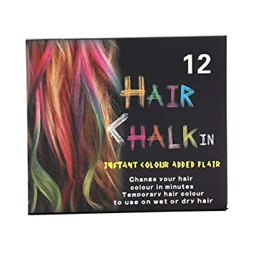 Amazon Com Art Colors Master Pastels Chalk Sets For Coloring Blending Texturing Hair Dye Hair Chalk Set For Temporary Hair Color For Kids Teens And Adults 02 Beauty