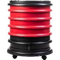 WormBox : Vermicompostador 4 bandejas Rojo - 64 litros