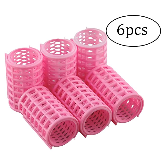 6 unidades de rulos de plástico para el hogar, herramientas de ...