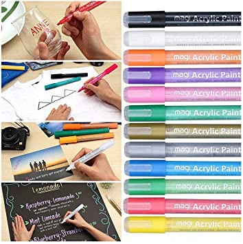 10 Pcs 0.38mm Watercolor Pencil Marker Album  Sketch Color Marker Brush Pen Tool