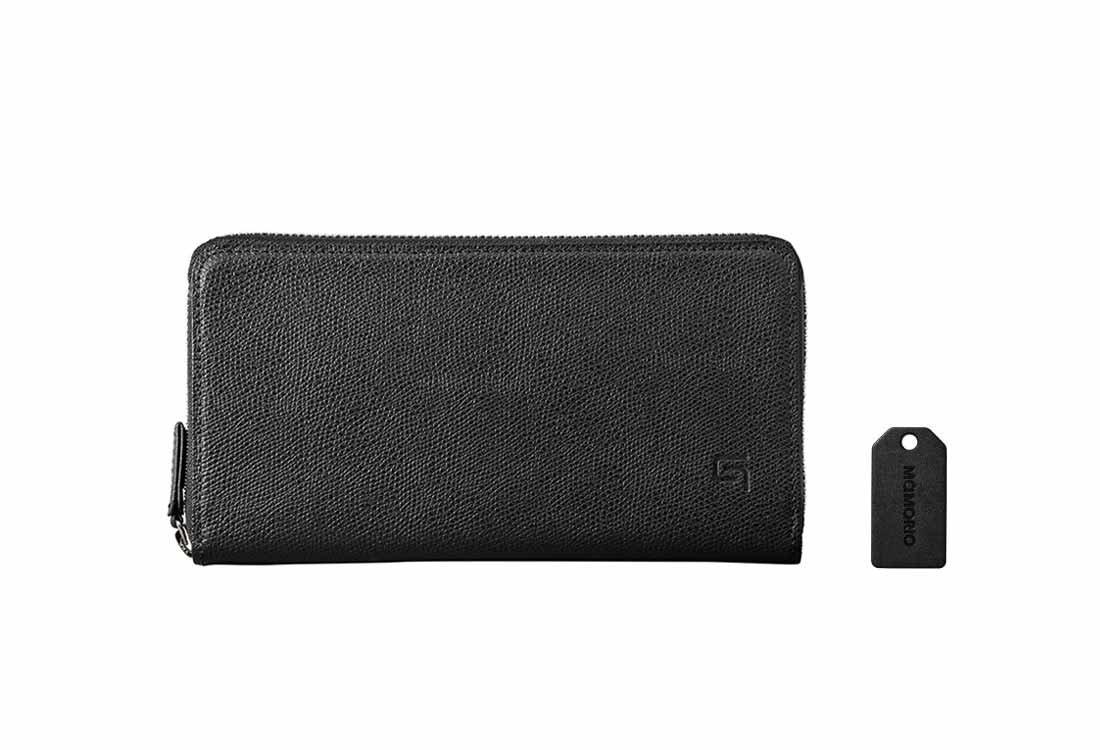 GRAMAS Singlezip Organizer Wallet MAMORIO inside B0789DTW28 ブラック/ブラック ブラック/ブラック
