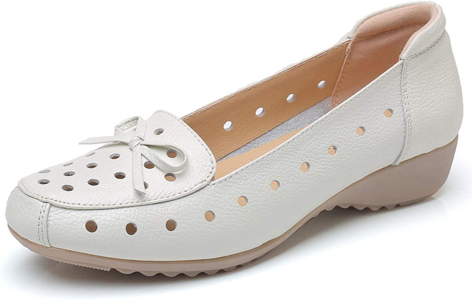 Breathable Genuine Leather Shoes Woman