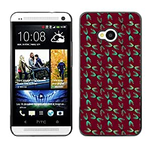 ZECASE Funda Carcasa Tapa Case Cover Para HTC One M7 No.0003549