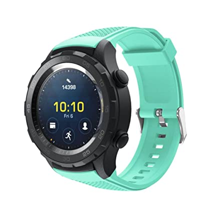 Correas Huawei Watch 2 OverDose Silicagel de Repuesto Banda Suave para Huawei Reloj 2 …