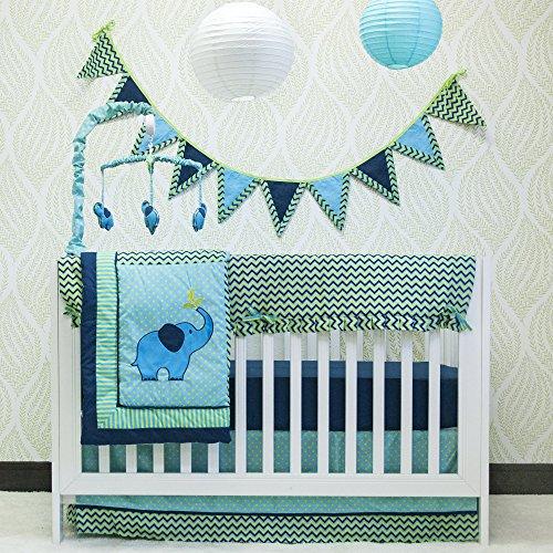 & Match 10 Piece Crib Bedding, by Pam Grace Creations ()