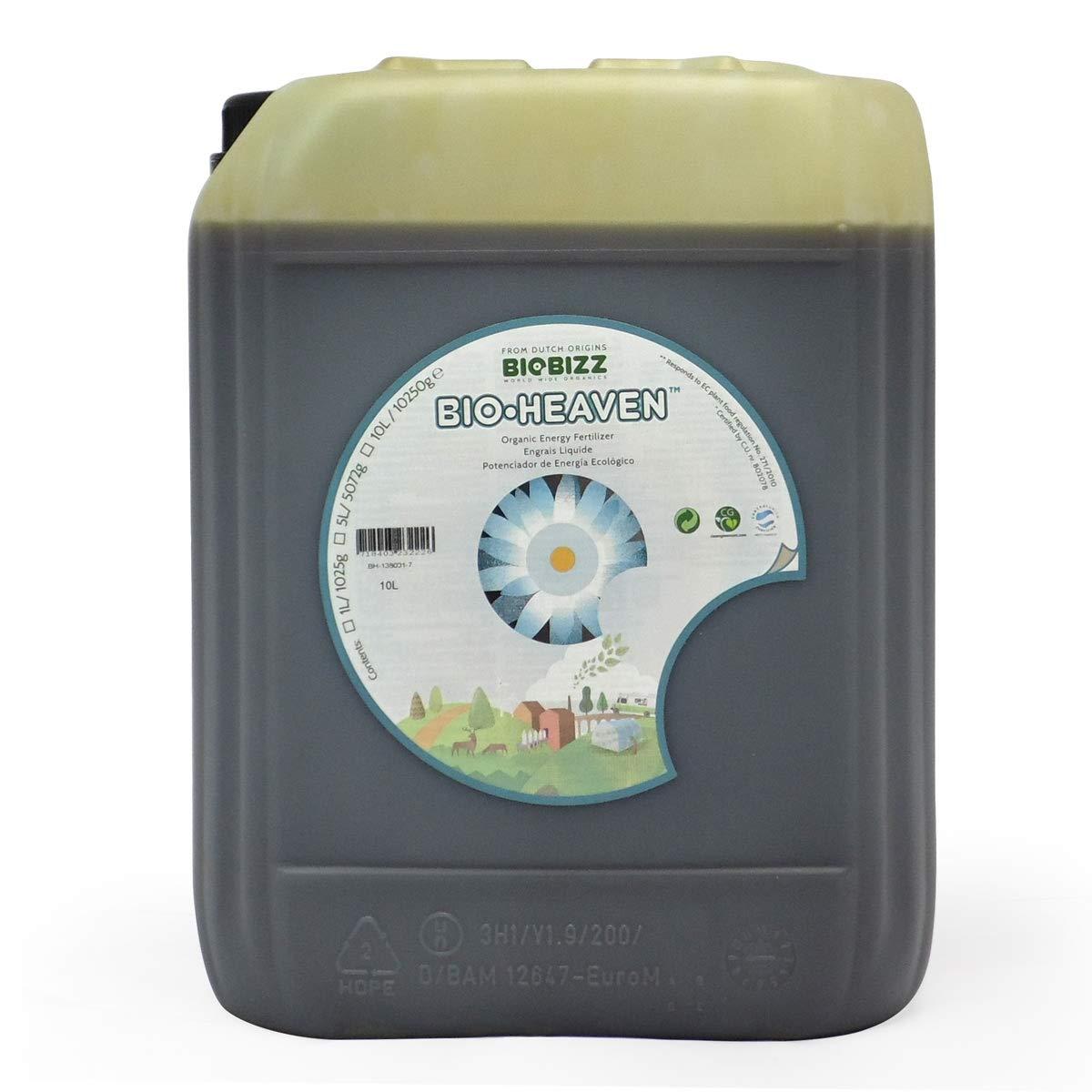 Energisant Bio.Heaven 10 litros - BioBizz: Amazon.es: Jardín