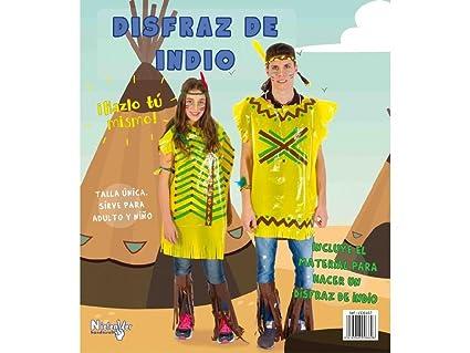 Niefenver 1500107 - Disfraz Bolsa Plástico Indio Niefenver ...