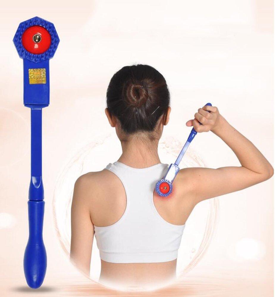 XCF Massage Beats - Strong Magnetic Paddles - Meridian Raise Health - Beat Pound Health Beats Massage - Back Massagers Whole Body Beat Hammer - Magnetic Therapy,blue,massage