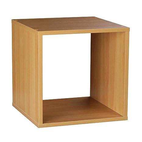 Cube Bois Rangement