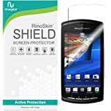 RinoGear for Sony Ericsson Xperia Play Screen Protector [Active Protection] Flexible HD Invisible Clear Shield Anti-Bubble