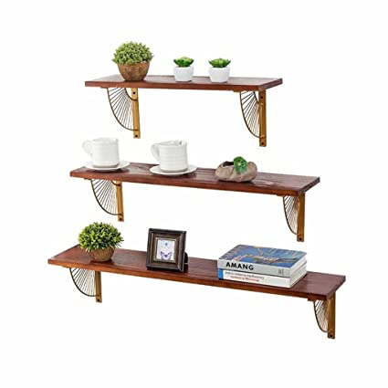 Amazon Floating Shelves Decorative Wall Mounted Hanging Shelf Magnificent Outdoor Floating Shelves