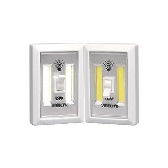 vibelite battery operated led night lights cob led cordless light