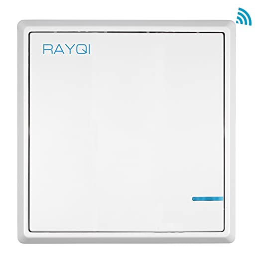 Wireless lights switch kit rayqi smart wireless wall light switch wireless lights switch kit rayqi smart wireless wall light switch no wiring no battery mozeypictures Choice Image