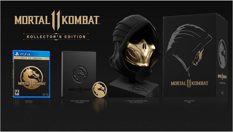 Mortal Kombat 11: Kollector Edition - PlayStation 4: Amazon.com.mx:  Videojuegos