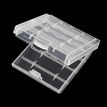 Caja de Almacenamiento de batería de plástico Duradera Caja de ...