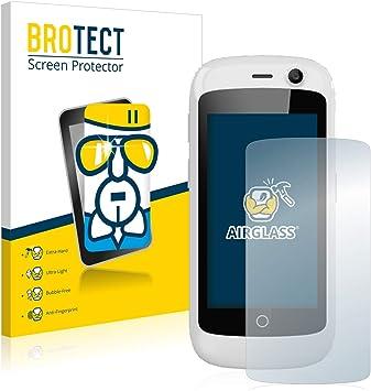 BROTECT Protector Pantalla Cristal Compatible con Unihertz Jelly ...